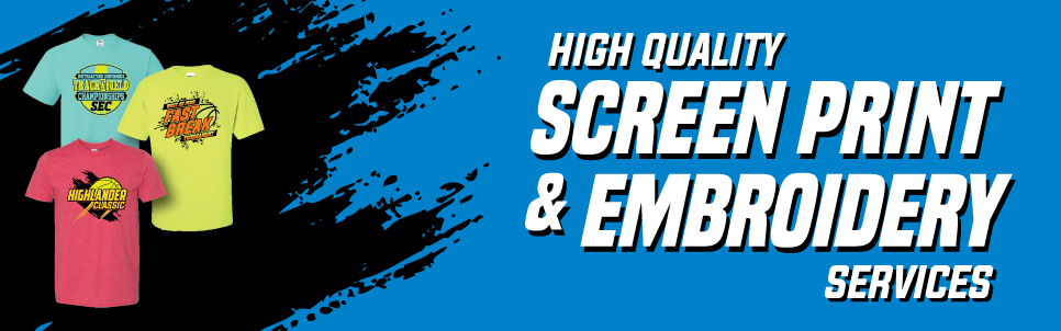 High Quality Screen Print & Embroidery Services